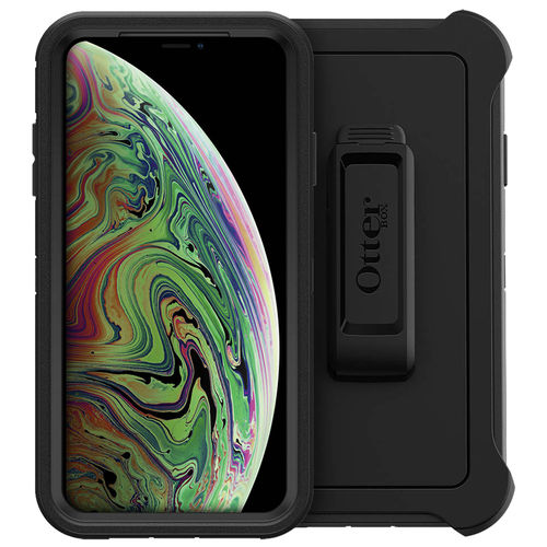 OtterBox Defender Shockproof Case for Apple iPhone Xs Max - Black